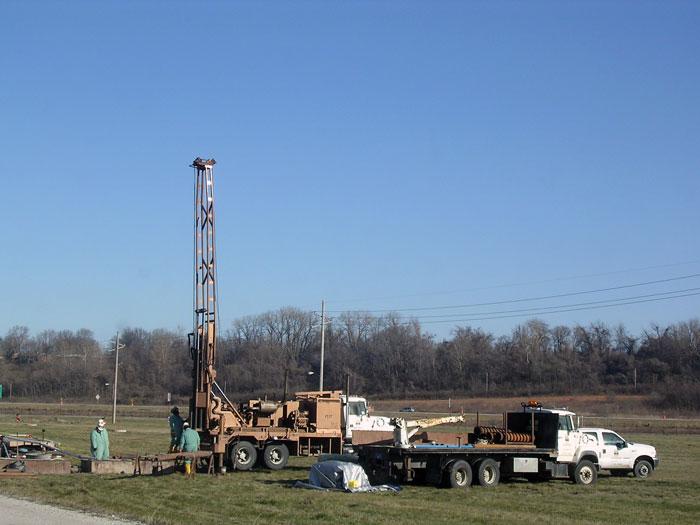 Deep waterline core drilling