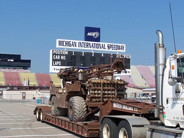 CME 750 ATV Drill Rig