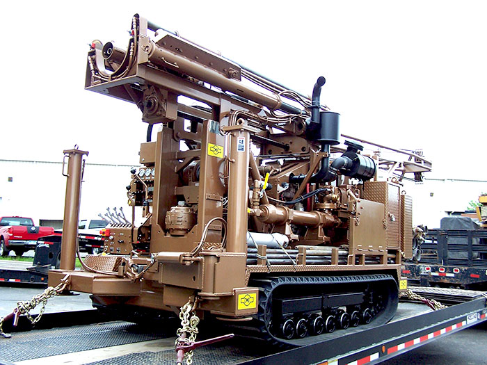 CME55 300 Track drilling