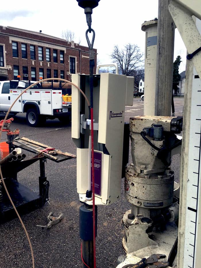 environmental drilling bladder pump
