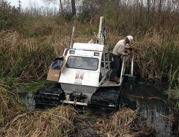 Marsh Master Environmental Drilling Rig