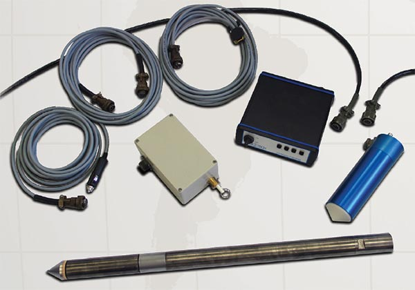 Basic components of the RW GeoProbe Nova CPT System